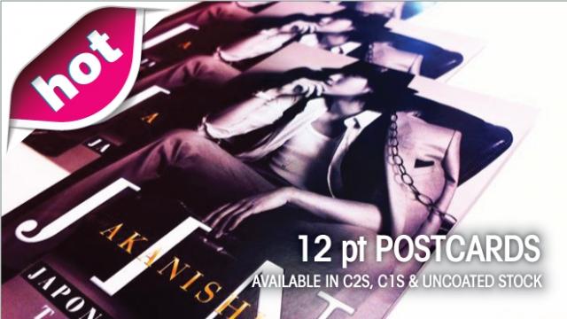 12 pt Postcards