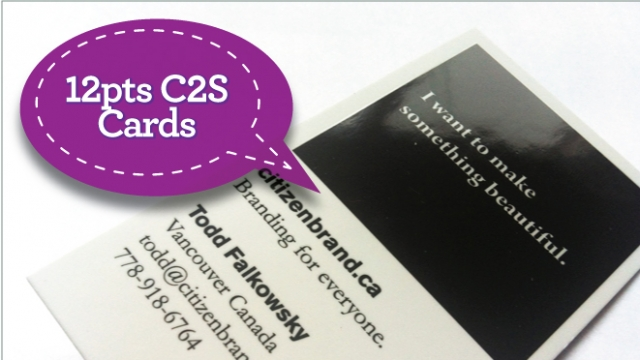 12pts C2S Cards