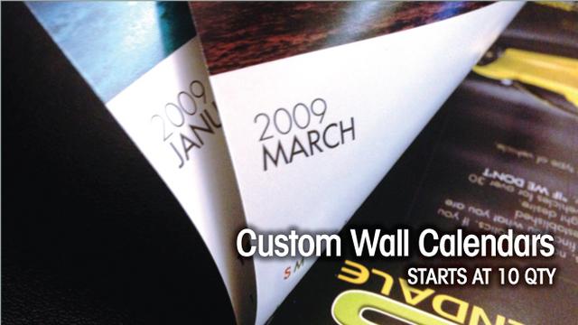 New Custom Wall Calendar