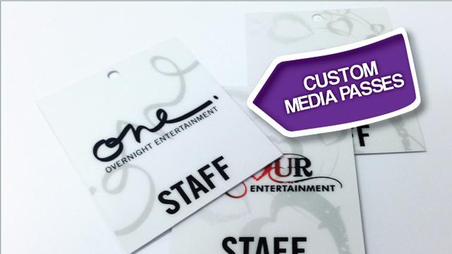 Custom Media Passes