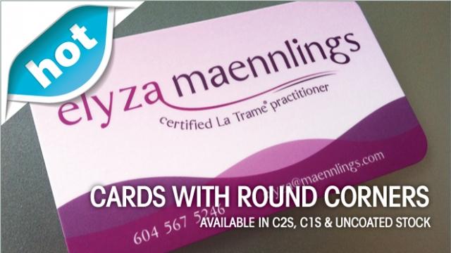 Round Corner Cards